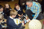 Children at the Year 4 and 5  Careers Day.